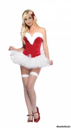 сексуальные костюмы для взрослых фото снегурочки
